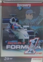 Secret Life Of Formula 1 - Discovery Channel 3dvd box