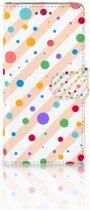Wiko Lenny 2 Boekhoesje Design Dots