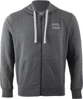 Russell Athletic Zip Through Hooded Sweater - Sporttrui - Mannen - Maat S - Grijs