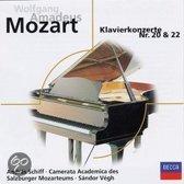 Klavierkonzerte 20, 22