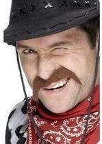 Smiffys - Snor - Cowboy - Bruin