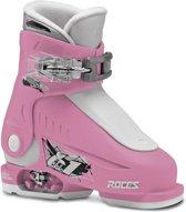 8b354fc791f Roces Ski schoenen - Maat 25-29 - Unisex - roze/ wit