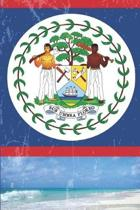 Belize Flag Journal