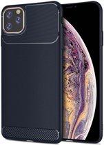Apple iPhone 11 Pro Armor TPU Hoesje Blauw
