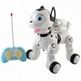 Aei Cheng draadloze afstandsbediening puppy met lichte muziek en projectie voor kinderen vanaf 3 jaar, 1034A-GT, wit