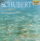Schubert: Trout Quintet, etc / O'Conor, Cleveland Quartet