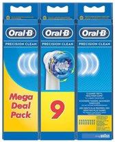 Oral-B Precision Clean Opzetborstels - 9 Stuks