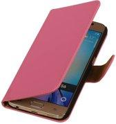 Samsung Galaxy J3 J300F Roze | bookstyle / book case/ wallet case Hoes  | WN™