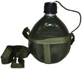 Leger flacon 18 x 12 cm met schouderband