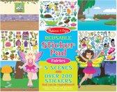 Melissa & Doug - Reusable Sticker Pad - Fairies