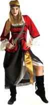 Luxe piraten pak voor dames - Verkleedkleding - Small