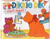 Dikkie Dik viert feest lees en puzzelboek met  met 4 puzzels