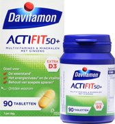 Davitamon Actifit 50+ - 90 Tabletten - Voedingssupplement