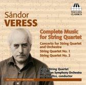 Veress: Music For String Quartet