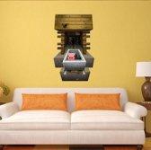 minecraft 3d game plakposter muurposter zelfklevende vinyl poster sticker deurposter deursticker