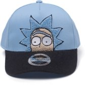 Rick and Morty - Rick Chenille 2D Embroidery Curved Bill Cap