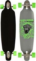 Black Dragon Longboard 36 Inch Drop-trough Jungle Fever