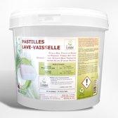 EcoPro Vaatwastabletten met Ecolabel 2,25 kg- 125 tabs
