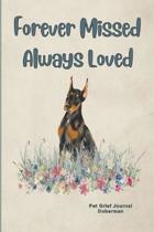 Pet Grief Journal Doberman: Guided Prompt Keepsake Workbook