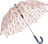 Free And Easy Paraplu Aap 58 Cm Oranje