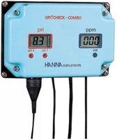 Hanna Gro'Check Combo continu meter pH&EC