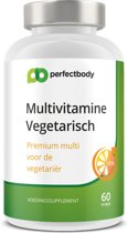 Multivitamine Vegetarisch - 60 Vcaps - PerfectBody.nl
