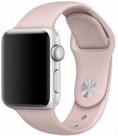123Watches.nl Apple watch sport band - pink san - 38mm en 40mm - SM