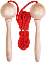 Skipping rope - (3m) adjustable - Red