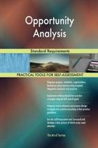 Opportunity Analysis Standard Requirements