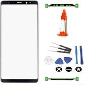 Voor Samsung Note 9 N960 vervangglas + loca lijm - zwart