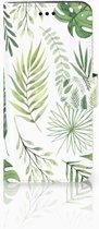 Huawei P10 Lite Uniek Boekhoesje Leaves