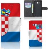 Bookcase Hoesje Samsung Galaxy Grand Prime Kroatië