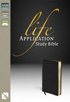 NASB, Life Application Study Bible, Bonded Leather, Burgundy, Indexed