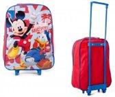 Mickey Mouse en Donald Duck trolley - tas op wieltjes