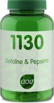 AOV 1130 Betaine & Pepsine 120 vegicaps - Enzymen
