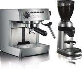 Graef Espressomachine ES85 + Koffiemolen CM800