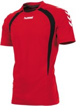 hummel Team T-Shirt Junior Sportshirt - Rood - Maat 128