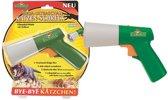 Florissa Ultrasoon pistool voor katten en honden, schrikmiddel, rood laserlicht, echografie schakelaar