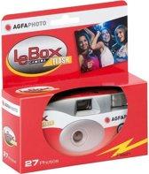 AgfaPhoto LeBox Flash Einwegcamera met Blitz - 27x Aufnahmen