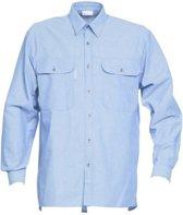 HAVEP 1624 Overhemd Lange mouw Bleu L
