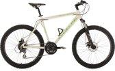 Ks Cycling Fiets Ks Cycling Mountainbike 26 inch fully-mountainbike GTZ met 24 versnellingen wit/groen -