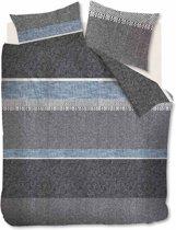 Ambiante Structure Stripe - Dekbedovertrek - Lits-jumeaux - 240x200/220 cm - Grijs