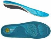 Sidas inlegzool - 3 Feet High Arch – unisex - blauw - maat 37/38