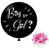 Gender reveal ballon - 91cm - Meisje