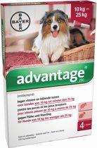 Advantage 250 Anti vlooienmiddel Hond - 4 pipetten