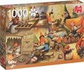 Rien Poortvliet, Bij de kabouters thuis 1000 stukjes
