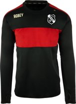 Robey Sweater - Voetbaltrui - Black/Red - Maat 140