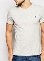 T-Shirt basic short sleeve XXL grey