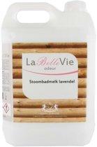 La Belle Vie stoombadmelk Lavendel 5ltr