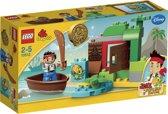 LEGO DUPLO Jake en de Nooitgedachtland Piraten Jake's Schattenjacht - 10512